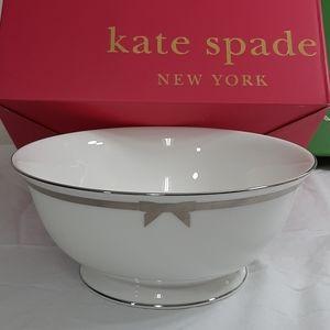 Kate Spade Grace Avenue serving bowl Lenox China